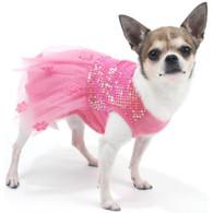 Oscar Newman Hotter Than You Pink Sequin Dress