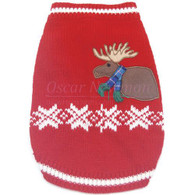 Oscar Newman Truly Oscar Moose Lodge Sweater