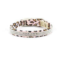 Susan Lanci Cheetah Couture 3 Row Giltmore Collar