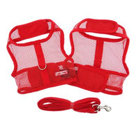 Doggie Design Red Cool Mesh Netted Harness