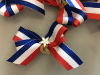 Red White & Blue Hairbows