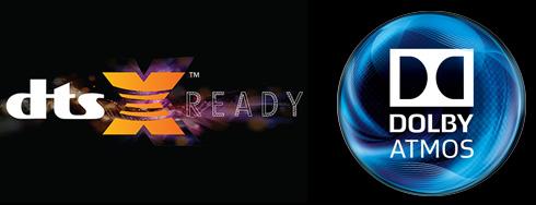 DTS:X & atmos ready