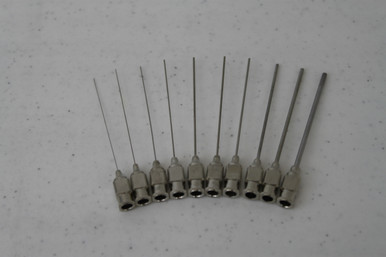 Straight 304 SS Needle Assortment (p/n 100-10-12-ASST)