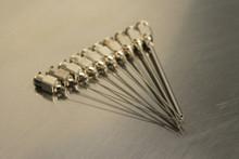 Straight 304 SS Needle Assortment (p/n 100-10-12-ASST)