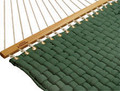 Hatteras Softweave Forest Green Woven Hammock