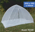 Frikon Bed Mosquito Net Tent Single - w/ Floor