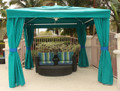 Fiberbuilt RIVA Pavillion 10x10 with SUNBRELLA top