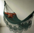Nicamaka HUNTER GREEN Couples Hammock