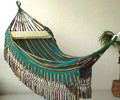 "Colombian ""Cartagena"" Fabric Hammocks - Decor Borders, No Spreader-Bars OUT OF STOCK"