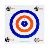 SMK All rounder 100pc Coloured Card Air Rifle Airgun Targets 17x17cm