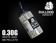 Bulldog pellets in white 0.30G x 2000 pc in speed loader