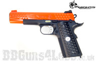 Knights Armament Co Knighthawk 1911 gas blowback Pistol