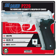 Sig Sauer P226 Airsoft with free target