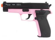 Sig Sauer P226 BB gun in pink