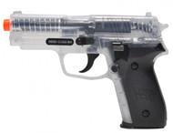 Sig Sauer P228 replica BB gun in clear finish
