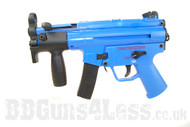 Well G55 MP5K replic with Gas Blowback in blue