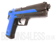 HFC HGC-305 Gas powered pistol in blue