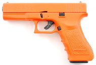 Blank firing Glock 17 in orange full scale