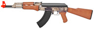Kalashnikov AK47  and 1911a1 pistol spring Airsoft Guns in Clear Smoke