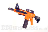 Well D3809 Fully Auto Electric Airsoft gun in Orange