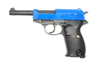galaxy G21 Full Metal Walther P38 in blue