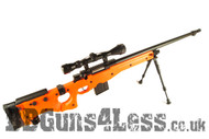WELL MB4403D Style Airsoft Spring Sniper Rifle in Orange