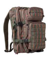 Kombat Small 28 Litre Assault Pack in green and red