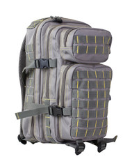 Kombat Small 28 Litre Assault Pack in grey and yellow