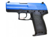 HFC HGA 166 Sig P226 style Gas blow back pistol in blue