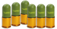 ICS 40mm Plastic Grenades 6 pc set