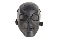 Airsoft Skull with scar full face mask