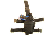 Drop tactical leg holster in Black