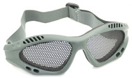 mesh goggles Green