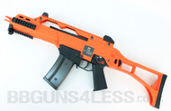 WE M4A1 full metal AEG Airsoft Rifle in orange