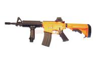 Well D4817 M4 fully auto Airsoft gun in orange
