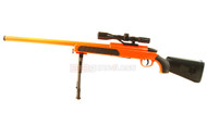 Cyma ZM51 bolt action sniper rifle with scope and bipod