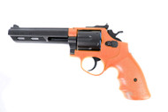 HFC HG133 Replica S and W Revolver gas airsoft Gun in orange