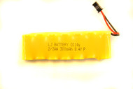 LJ BATTERY 0114y 2/3AA 8.4v p 300mah  BATTERY PACK