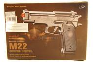 Double Eagle M22 replica beretta m92 pistol