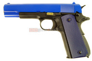 WE 1911A GBB Airsoft Pistol in blue