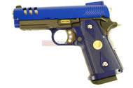 WE HI Cappa 3.8 GBB Airsoft Pistol in blue