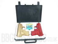 Double Eagle P328B Twin pack in Plastic Gun Case
