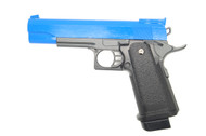 G6 Full Metal Pistol Airsoft Gun In Blue