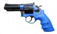 HFC HG132 Replica .357 Revolver Gas Airsoft Gun In Blue