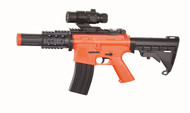 Well D2808 M4 CQB Fully Auto Airsoft gun In Orange