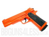 ZM25 Full Metal Pistol in Orange