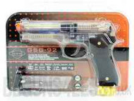 GSG 92 Spring Powered Pistol in Clear
