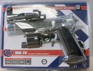 Colt MK IV Combat Pistol & Target Kit