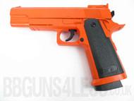 ZM26 Full Metal Pistol in orange