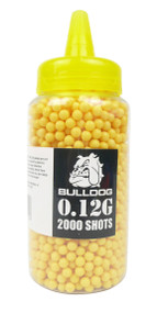Bulldog Pellets 2000 x 0.12g Bottle - Yellow
